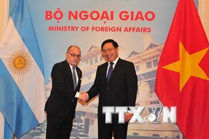 Việt Nam và Argentina tăng cường hơn nữa quan hệ hợp tác