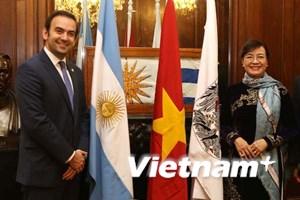 Thúc đẩy quan hệ hữu nghị giữa TP.HCM và Buenos Aires