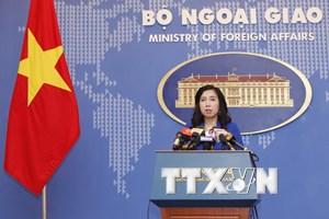 Kiên quyết yêu cầu Trung Quốc tôn trọng chủ quyền của Việt Nam