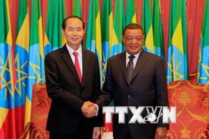 Tạo động lực mới cho mối quan hệ Việt Nam với Ethiopia và Ai Cập