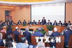 Hà Nội mong muốn doanh nghiệp Pháp đầu tư xây thành phố thông minh