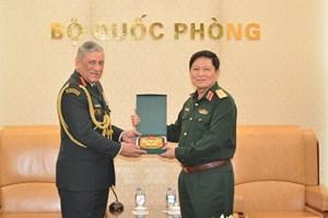 Bộ Quốc phòng Việt-Ấn duy trì các cơ chế hợp tác hiện có