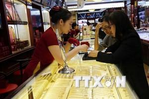 Thị trường ảm đạm, giá vàng trong nước giảm dần về cuối tuần