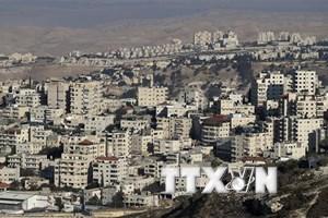 Israel phê chuẩn kế hoạch xây dựng 2.200 nhà định cư ở khu Bờ Tây