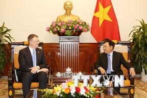 Phó Thủ tướng Phạm Bình Minh tiếp Đại sứ Hoa Kỳ Daniel Kritenbrink