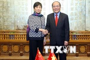 Thúc đẩy quan hệ hợp tác Đối tác chiến lược toàn diện Việt-Trung