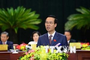 Ông Võ Văn Thưởng giữ chức Trưởng ban Tuyên giáo Trung ương