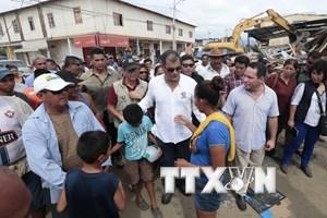 Ecuador tăng thu thuế để tái thiết các khu vực bị thảm họa