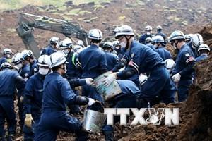 Động đất tại Nhật: Mưa lớn ngăn cản nỗ lực cứu hộ ở Tây Nam