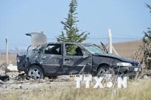 Đánh bom xe nhằm vào chốt quân sự ở Thổ Nhĩ Kỳ, 17 người chết
