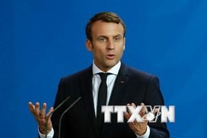 Tổng thống Pháp hoãn công bố danh sách nội các đầu tiên