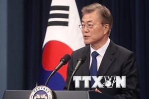 Gần 90% người dân Hàn Quốc đánh giá cao tân Tổng thống Moon Jae-in