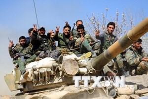 Chính quyền Syria đạt thỏa thuận sơ tán phiến quân khỏi Douma