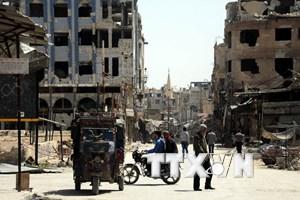 Mỹ, Pháp và Anh sửa đổi một dự thảo nghị quyết về Syria