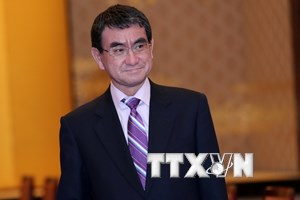 Ngoại trưởng Nhật Bản Taro Kono lên kế hoạch thăm Mỹ vào tháng Năm