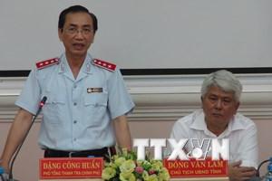 Thanh tra Chính phủ công bố quyết định thanh tra tại tỉnh Trà Vinh