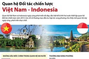 [Infographics] Quan hệ Đối tác chiến lược Việt Nam và Indonesia