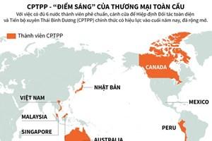 """[Infographics] CPTPP - """"điểm sáng"""" của thương mại toàn cầu"""