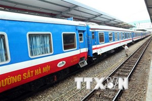 Trên 400.000 lượt hành khách đi tàu liên vận Hà Nội-Nam Ninh