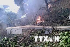 Vụ Mi-171: Ba chiến sỹ vẫn đang được điều trị đặc biệt