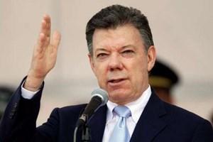 Giải Nobel Hòa bình được trao cho Tổng thống Colombia Juan Santos
