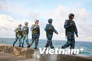 Chiến sỹ đảo Trường Sa luôn rèn luyện theo gương Chủ tịch Hồ Chí Minh