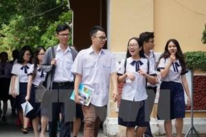 Các trường đại học bắt đầu công bố điểm chuẩn xét tuyển 2017