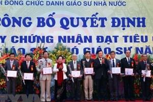 Sau lùm xùm, Việt Nam chính thức có thêm 1.131 giáo sư, phó giáo sư