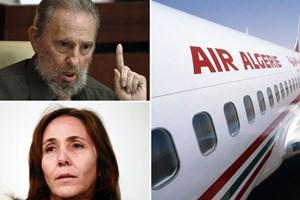 Tin con chủ tịch Cuba có mặt trên máy bay Algeria là thất thiệt