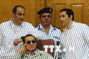 Tòa án Ai Cập tuyên án cựu Tổng thống Mubarak 3 năm tù