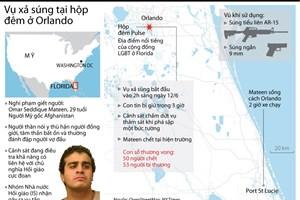 [Infographics] Nhìn lại vụ xả súng kinh hoàng tại hộp đêm ở Orlando