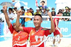 Đoàn Việt Nam có thêm một ngày bội thu huy chương tại ABG 5