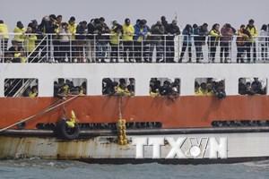 Hàn Quốc bắt đầu trục vớt phà Sewol, vẫn còn 9 thi thể mất tích