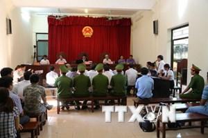 [Video] Đề nghị mức án cho 14 bị cáo trong vụ sai phạm ở Đồng Tâm