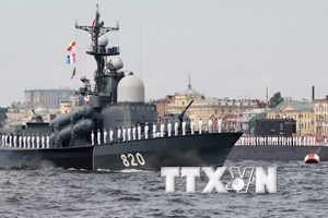 Hải quân Nga sẽ tiến hành hơn 500 cuộc tập trận trong năm 2018