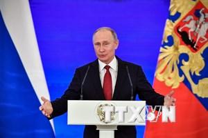 Ông Putin tuyên bố tiếp tục tranh cử tổng thống Nga năm 2018