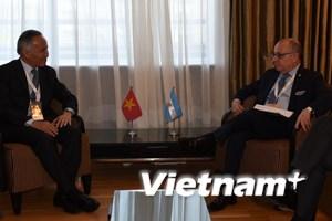 Việt Nam và Argentina thỏa thuận thúc đẩy trao đổi thương mại