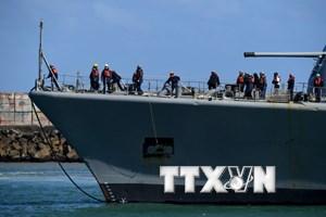 Phát hiện thêm 2 vật thể trong khu vực tìm kiếm tàu ngầm mất tích