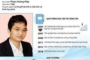 [Infographics] Chân dung vị giáo sư trẻ nhất Việt Nam