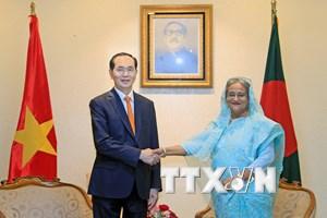 Thủ tướng Bangladesh ngưỡng mộ sự phát triển vượt bậc của Việt Nam