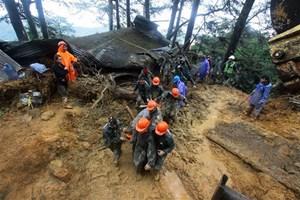 Thông tin mới nhất về sự tàn phá của trận siêu bão Mangkhut