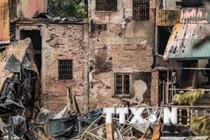 Hai thi thể trong vụ hỏa hoạn cạnh viện Nhi là cặp vợ chồng ở Phú Thọ