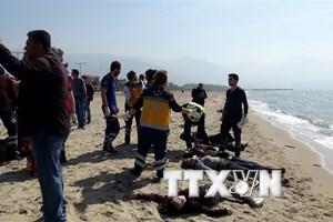 10 người mất tích do tàu chìm ngoài khơi bờ biển Thổ Nhĩ Kỳ