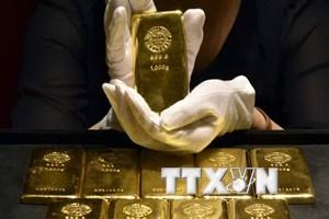 Giá vàng trên thị trường châu Á ít biến động trong phiên đầu tuần