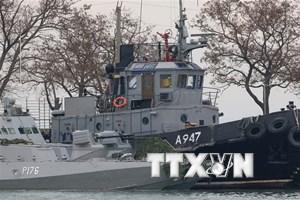 Nga đề nghị các nước phương Tây kiềm chế căng thẳng tại Eo biển Kerch