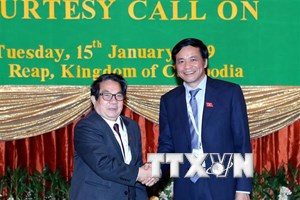 Quan hệ hợp tác giữa Quốc hội Việt Nam-Campuchia diễn ra rất tốt đẹp