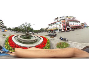 [Hình ảnh 360] Ngã tư Hàm Cá Mập - Hồ Hoàn Kiếm ở trung tâm Hà Nội
