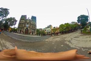 [Hình ảnh 360] Huyền ảo Nhà thờ Lớn Hà Nội