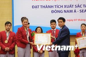 Hà Nội tuyên dương HLV, VĐV đạt thành tích tại SEA Games 29