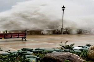 [Video] Siêu bão Mangkhut 'càn quét' Hong Kong, nhiều nhà cửa bị đổ